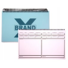 Brand X Log Books - 2 Per Page